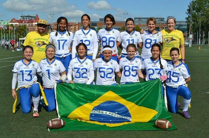 59f038588e Seleção brasileira feminina na Copa do Mundo de flag football