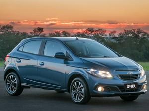 Chevrolet Onix é o novo campeão de vendas do Brasil (Foto: Divulgação)