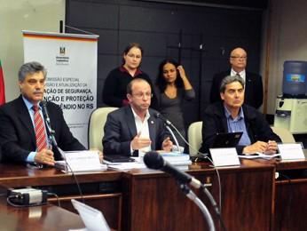 Reunião foi realizada na Assembleia Legislativa (Foto: Marcos Eifler, divulgação/Agência ALRS)