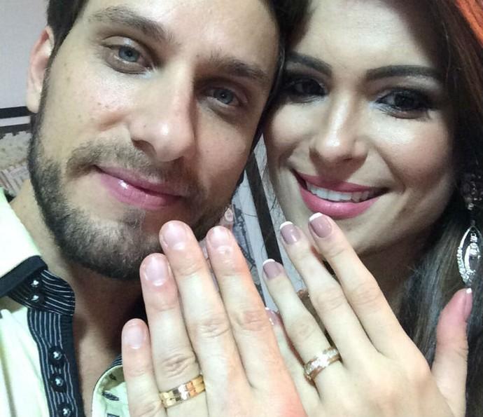 Enfim, noivos! Ex-BBBs pretendem se casar ano que vem (Foto: Arquivo pessoal)