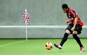 Carrossel Leo - lateral-direito Atletico-PR (Foto: Infoesporte)