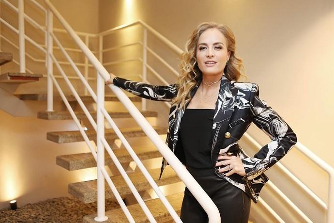 Angélica diz que ficou mais segura depois dos 40 anos (Foto: Carol Caminha/Gshow)