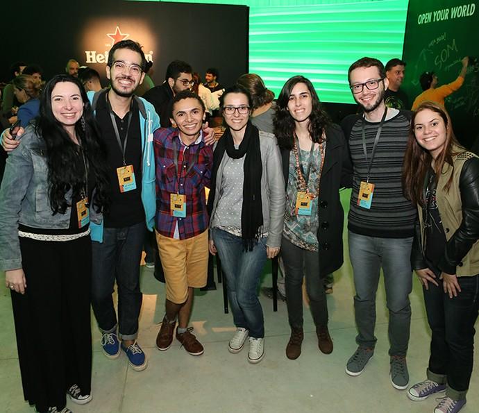 Semifinalistas do 'Globo Lab' participam de workshop nos Estúdios Globo (Foto: Gianne Carvalho/TV Globo)