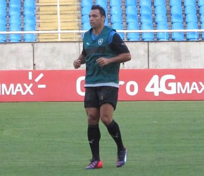 Daniel Carvalho treino botafogo (Foto: Marcelo Baltar)