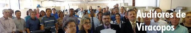 Auditores fiscais de Viracopos param fiscalização de cargas em protesto (Foto: Arte / G1)