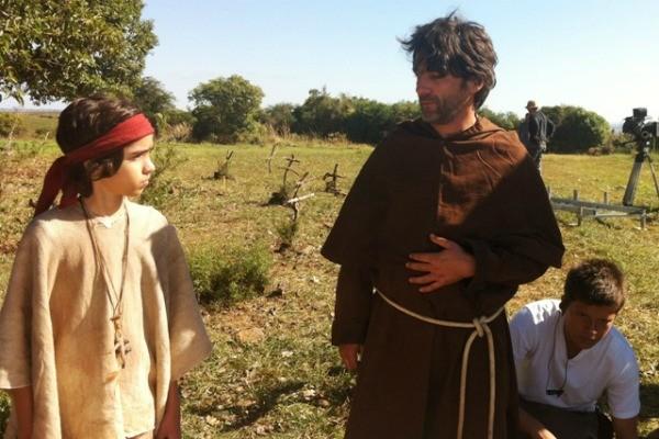 Cesar Trancoso atuou ao lado de Matheus Costa em Bagé, RS (Foto: Milena Fischer)