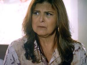 Jurema fica chocada com revelações (Foto: TV Globo)