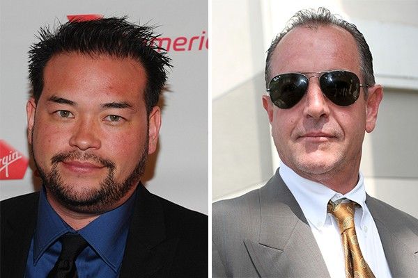 Jon Gosselin e Michael Lohan (Foto: Getty Images)
