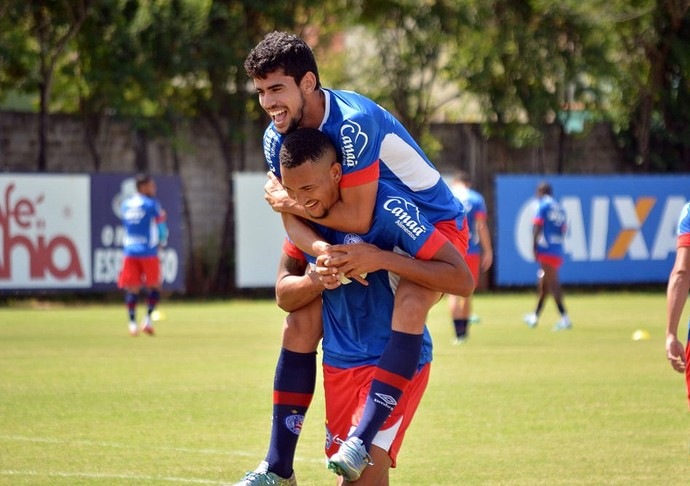 Bahia; treino; Fazendão; Zé Roberto (Foto: Marcelo Malaquias/ Divulgação/ E. C. Bahia)