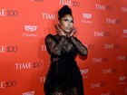 Nicki Minaj usa look transparente em festa da revista 'TIME'