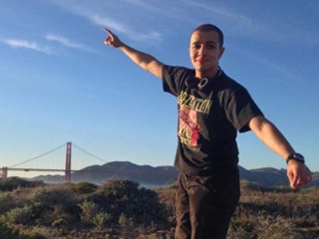 Iago estava nos Estados Unidos há três meses (Foto: Arquivo Pessoal)