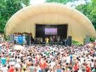 'Forró no Parque' reúne oito mil pessoas em festa com Cortejo Afro