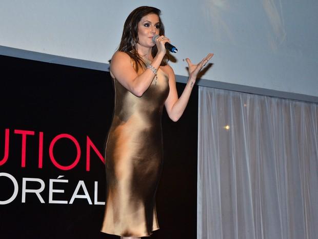 Deborah Secco em evento em São Paulo (Foto: Caio Duran/ Ag. News)