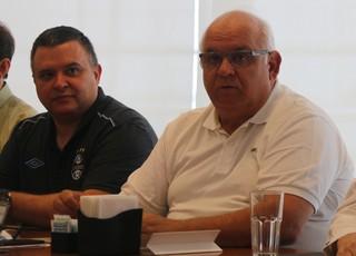 Romildo Bolzan Junior presidente do Grêmio (Foto: Eduardo Moura/GloboEsporte.com)
