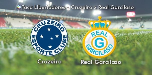 Cruzeiro enfrenta o Real Garcilaso pela 1ª rodada do grupo 5 (Foto: Arte | TV Integração)