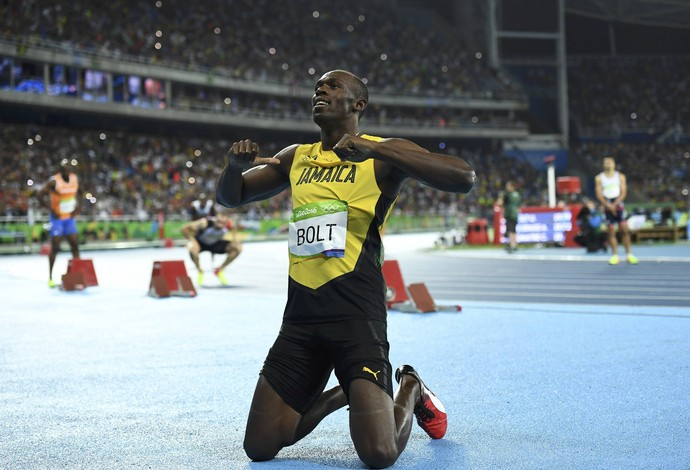 bolt 200m engenhão rio 2016 final (Foto: Dylan Martinez / Reuters)