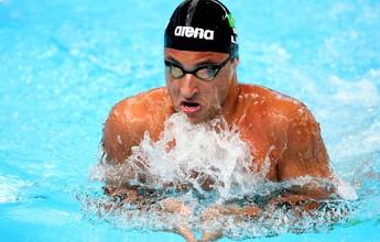 Alemão quebra recorde dos 100m peito e deixa Felipe Lima com a prata