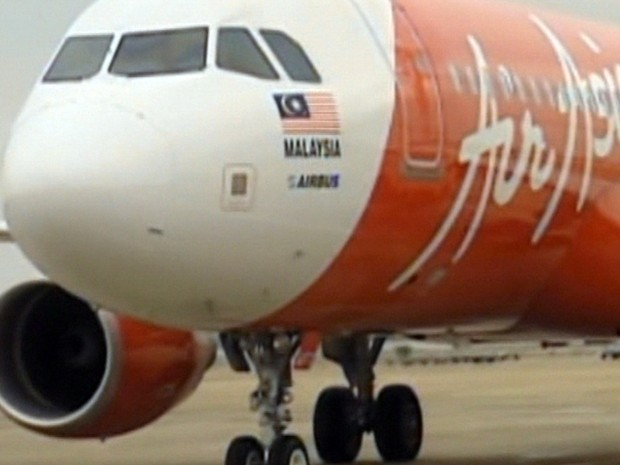 Objetos vistos em mar não são de avião da AirAsia que desapareceu com 162 a bordo - GNews (Foto: Reprodução/GloboNews)