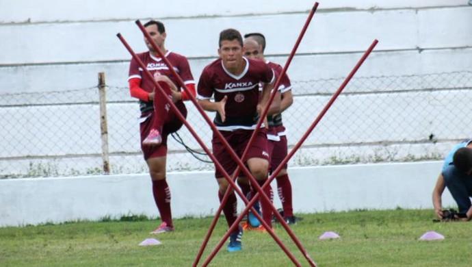 América-RN - Leomir, volante (Foto: Canindé Pereira/Divulgação)