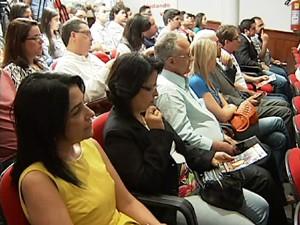 Audiência aconteceu nesta segunda-feira (Foto: TV Integração/Reprodução)