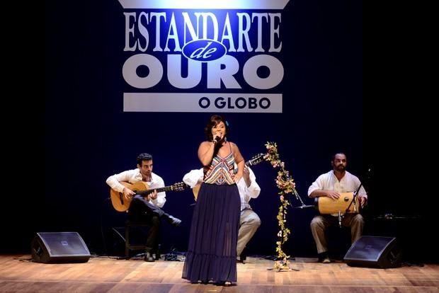 Show da cantora Dorina (Foto: Roberto Teixeira/ EGO)