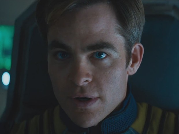 Chris Pine em 'Star Trek: Sem fronteiras' (Foto: Divulgação)