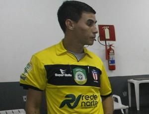 Joelson Silva dos Santos - árbitro da Federação Paraense de Futebol (Foto: Marcelo Seabra/O Liberal)