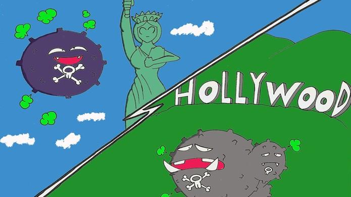 Koffing e Weezing são referências a Nova York e Los Angeles (Foto: Robot001)