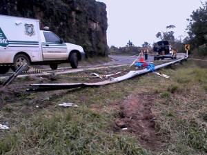 Vítimas dizem que caso ainda não foi esclarecido (Foto: Divulgação / Polícia Rodoviária Estadual)