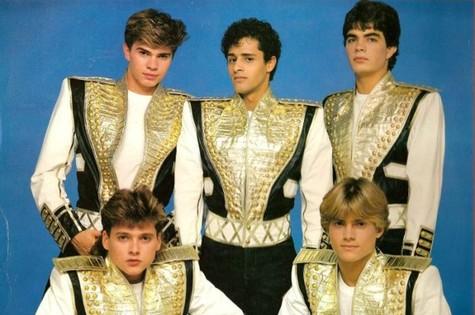 Os paquitos, no início da década de 1990 (Foto: Reprodução da internet)