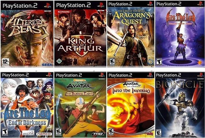 PS2 chegou a receber alguns jogos recentes (Foto: Divulgação)