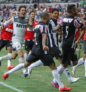Rafael Carioca, meio-campo do Atlético-MG (Foto: Bruno Cantini)