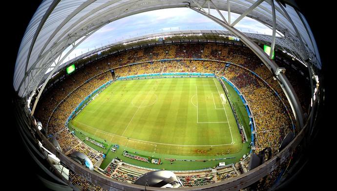 estádio Castelão jogo Brasil x México (Foto: Getty Images)