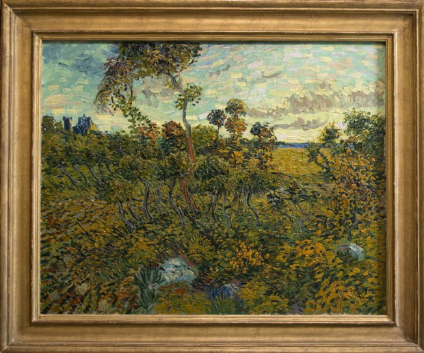 'Pôr do Sol em Montmajour', de Van Gogh (Foto: AP)