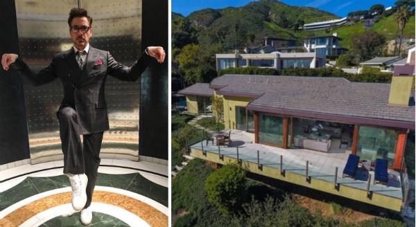 A casa comprada pelo ator Robert Downey Jr. (Foto: Instagram/Divulgação)