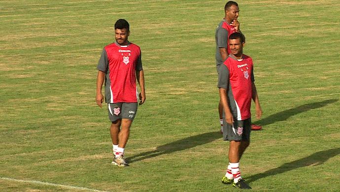Sergipe pode ter dois desfalques no ataque para amistoso do dia 29  (Foto: Reprodução/TV Sergipe)