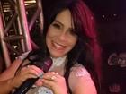 Vocalista do Calcinha Preta afirma: 'Música em novela dobra o cachê'