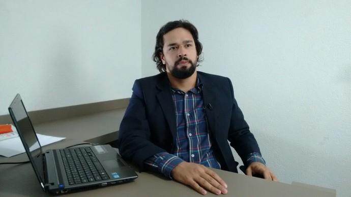 Advogado Rafael Meirelles, do Operário (Foto: Hélder Rafael)