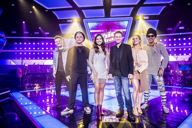 Elenco do The Voice quinta edição (Foto: Globo)