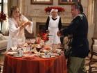 Tony Ramos e Irene Ravache contam detalhes sobre guerra de comida em cena