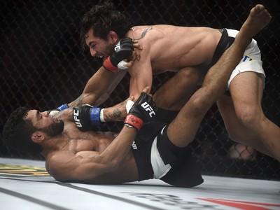 Guido Cannetti x Hugo Wolverine UFC Rio 7 UFC 190 MMA (Foto: André Durão)