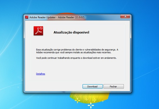 screenshot de Adobe Flash Player