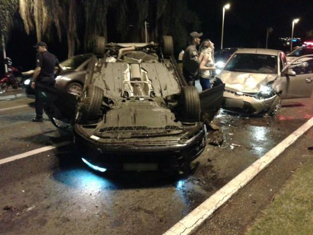 Acidente em Sorocaba (Foto: Arquivo Pessoal)