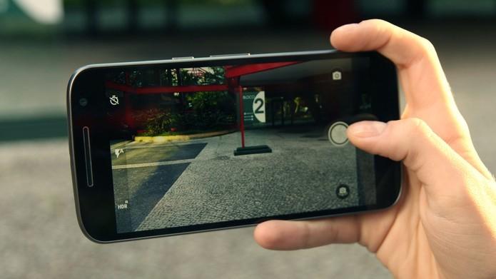 A câmera do Moto G 4 tem um desempenho bem regular (Foto: Ana Marques/TechTudo)