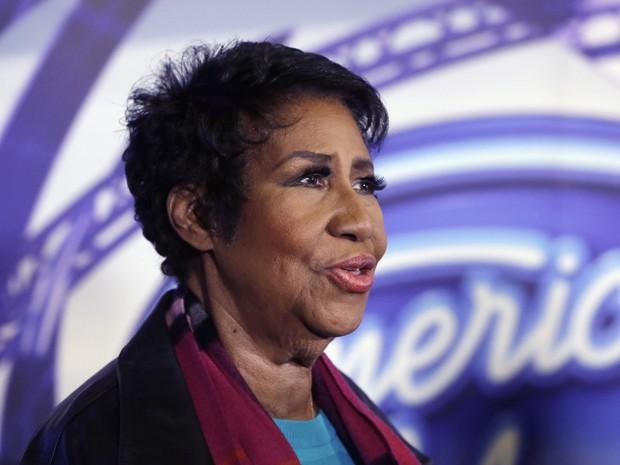 A cantora Aretha Franklin em foto de 4 de março (Foto: AP Photo/Carlos Osorio)