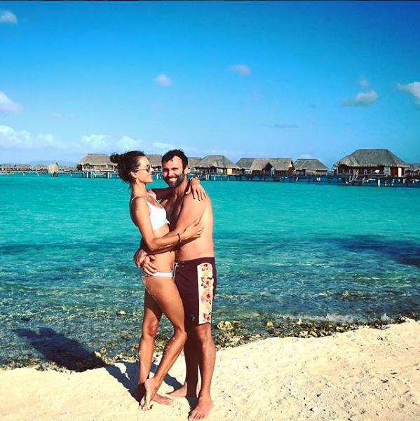 Alessandra Ambrósio e o marido,  (Foto: Reprodução/Instagram)