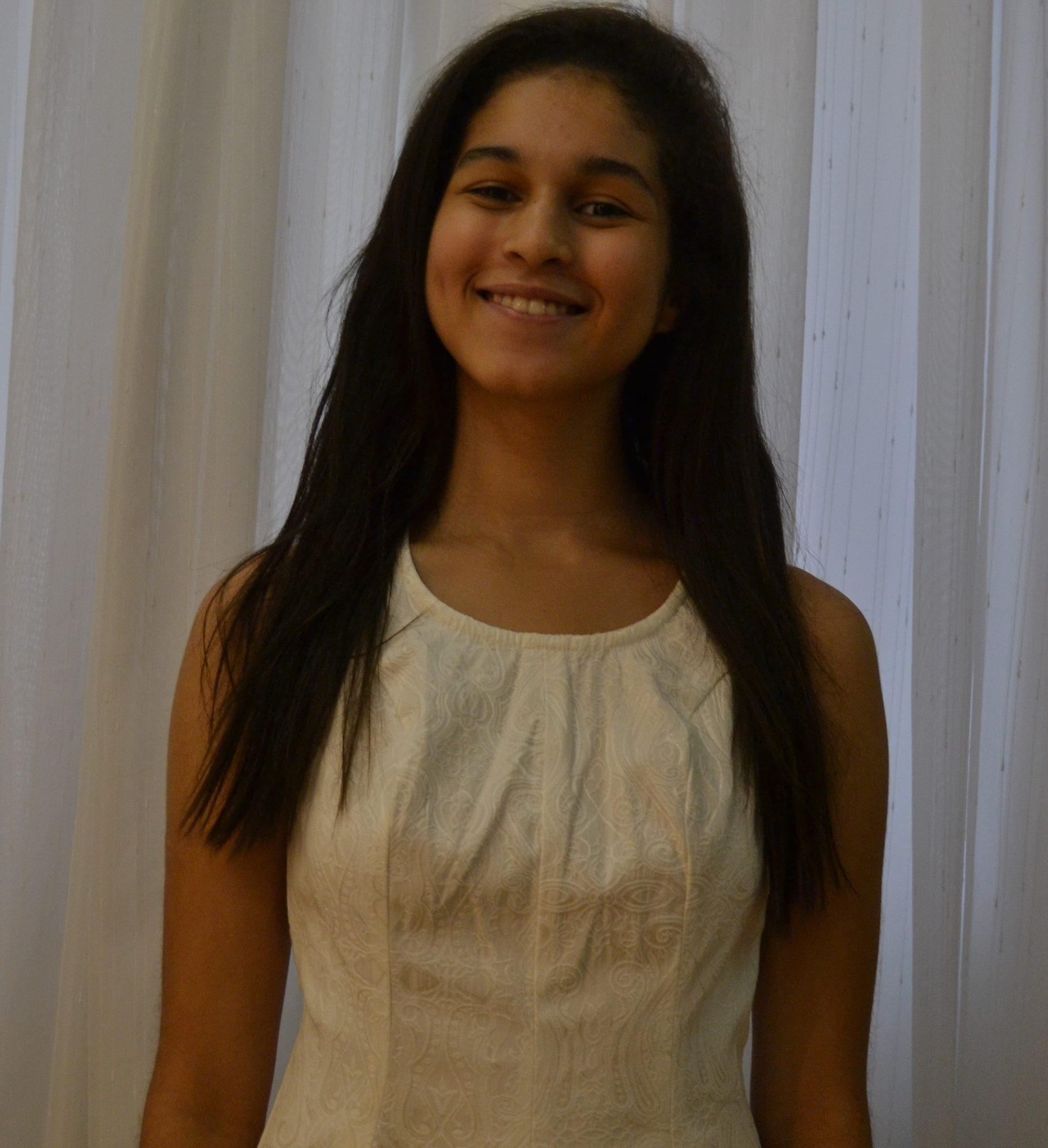 Ana Carolina Queiroz, de 18 anos, representará o Brasil no evento Girls(20) (Foto: Acervo Pessoal )