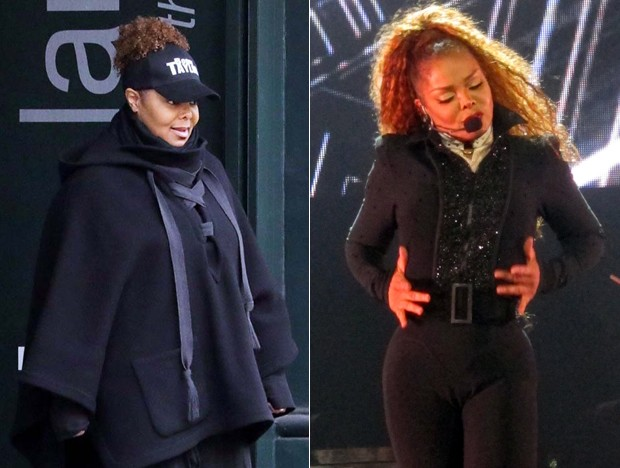 Janet Jackson recupera boa forma (Foto: The Grosby Group)
