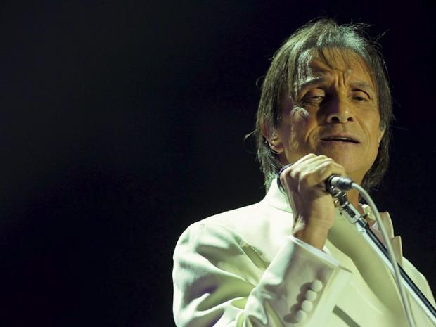 Roberto Carlos faz show em São Paulo na quarta-feira (7) (Foto: G1/Flávio Moraes)