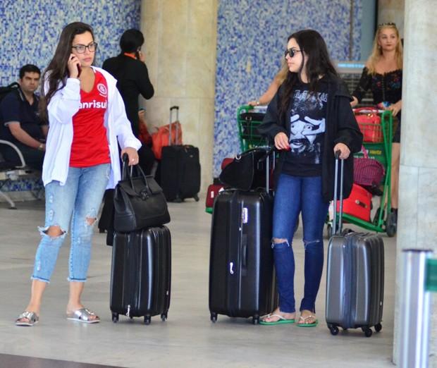 Emilly e Mayla Araújo (Foto: Webert Belicio / Ag News )